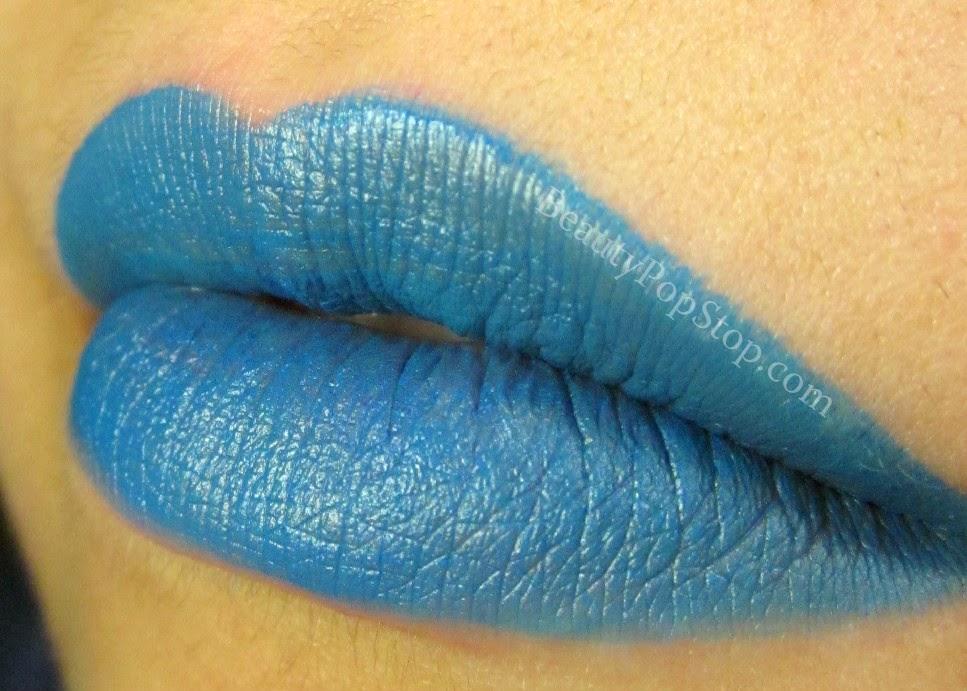 inglot freedom system matte lipstick 520 swatch
