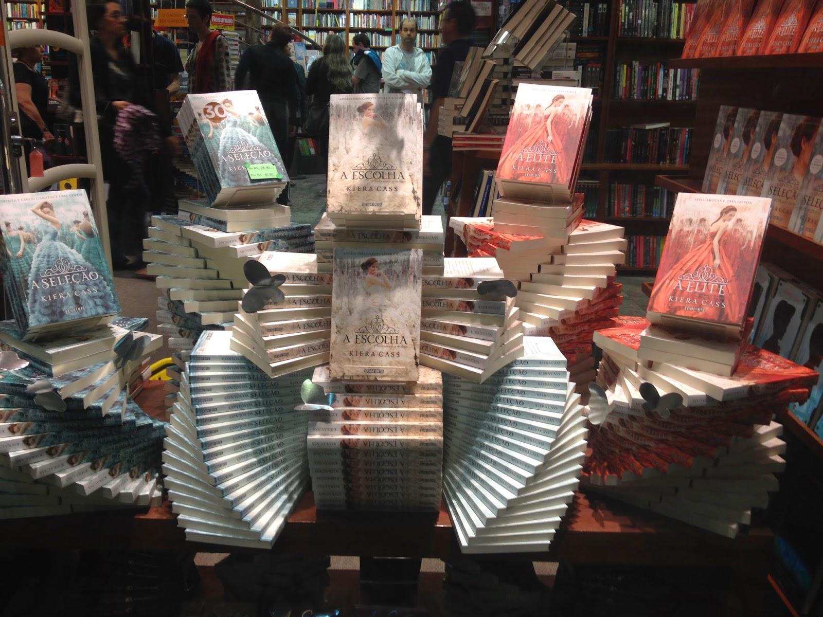 Encontro de Leitores Seguinte: Trilogia A Seleção