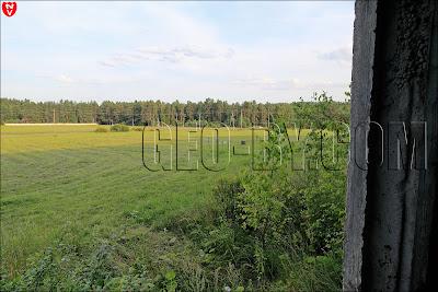 Вид из окна санатория в Новом поле