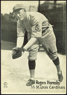 1917-20 M101-6 Rogers Hornsby
