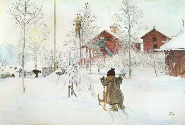 Celtic Lady: A CARL LARSSON CHRISTMAS