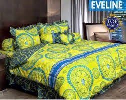 Jual Sprei Bed Cover My Love Eveline