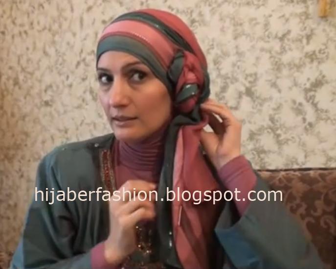 CARA PAKAI HIJAB JILBAB: Tutorial Jilbab Pesta Modern