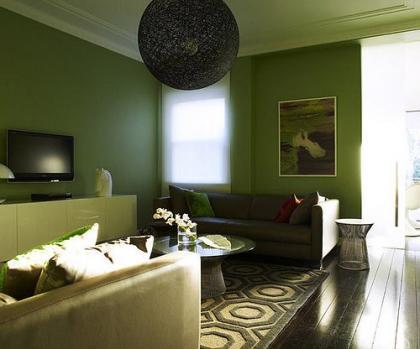 la casa tanto en las paredes como en diversos elementos