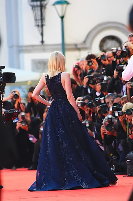 Dakota Fanning, red carpet Venice 70th