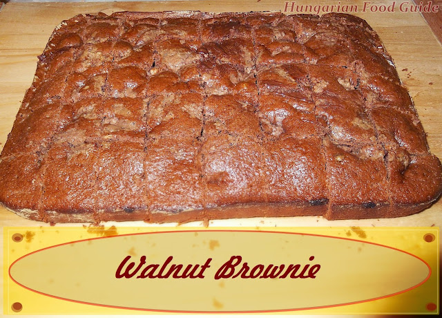 walnut brownie