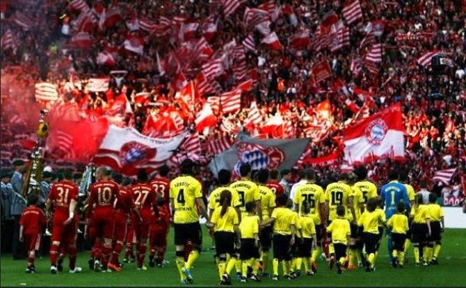 Borussia Dortmund vs Bayern Munich DFB Pokal final