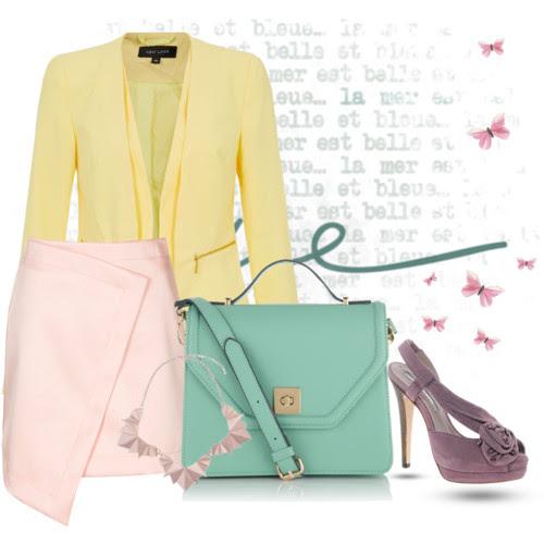pastel trend, pastels, spring 2014