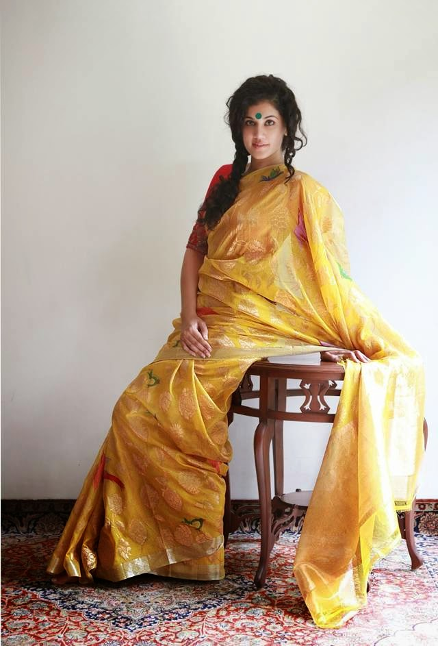 Saree Photoshoot of Indian Actress