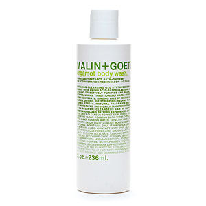 Malin + Goetz, Malin + Goetz shower gel, Malin + Goetz body wash, Malin + Goetz Bergamot Body Wash, body wash, shower gel