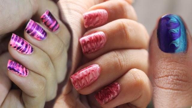 Unhas, unhas decoradas fácil, unhas para iniciantes, decoração com palito de dentes, Vídeo