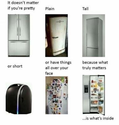 People are like fridges