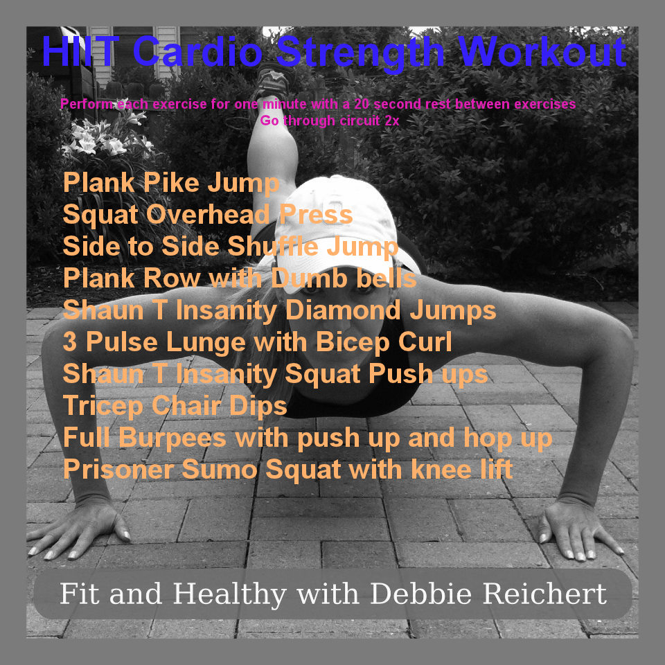 Strength Training Workouts: HIIT Cardio Strength Workout