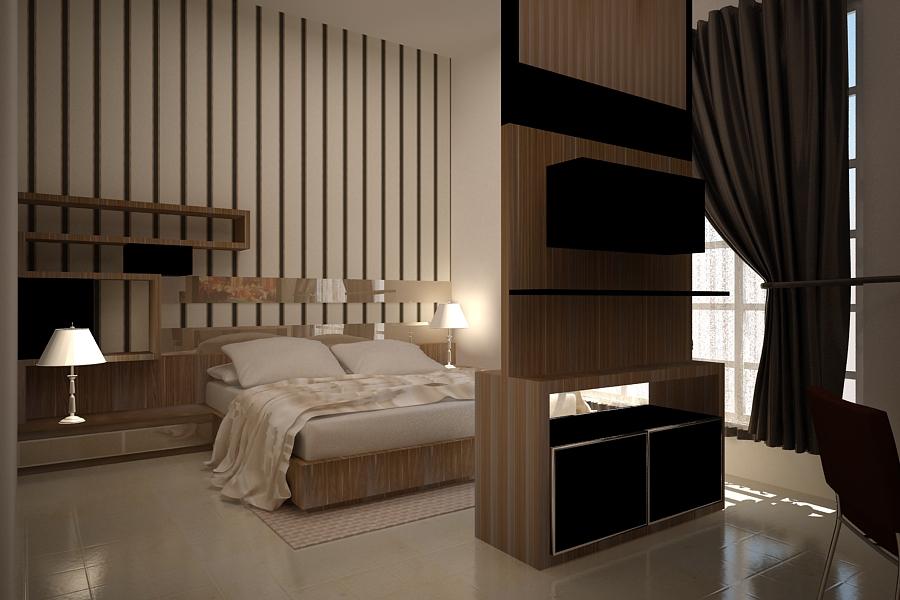 jakarta interior design desain minimalis kamar tidur