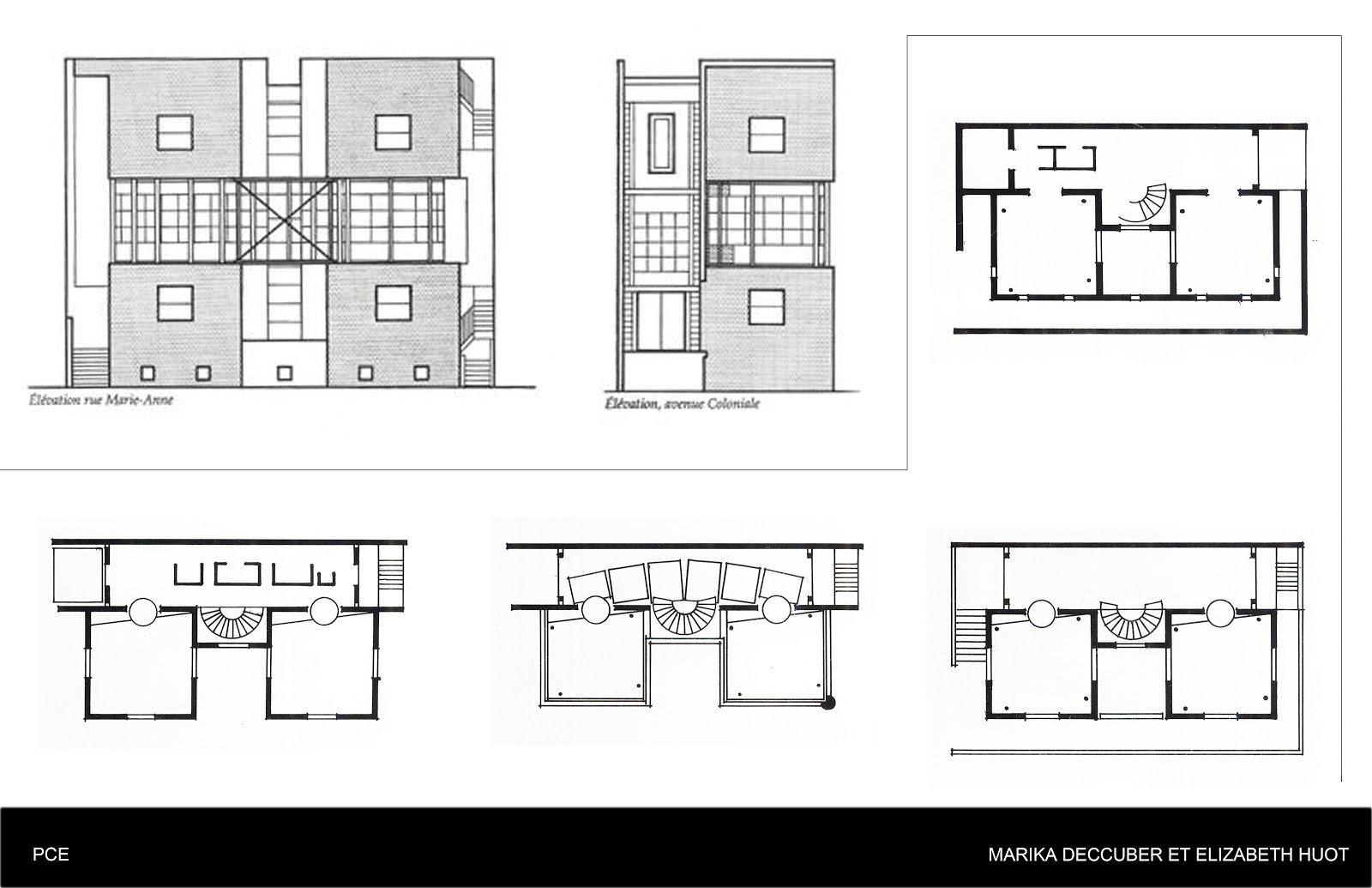 La maison coloniale jacques rousseau atelier hiver for Plan maison coloniale