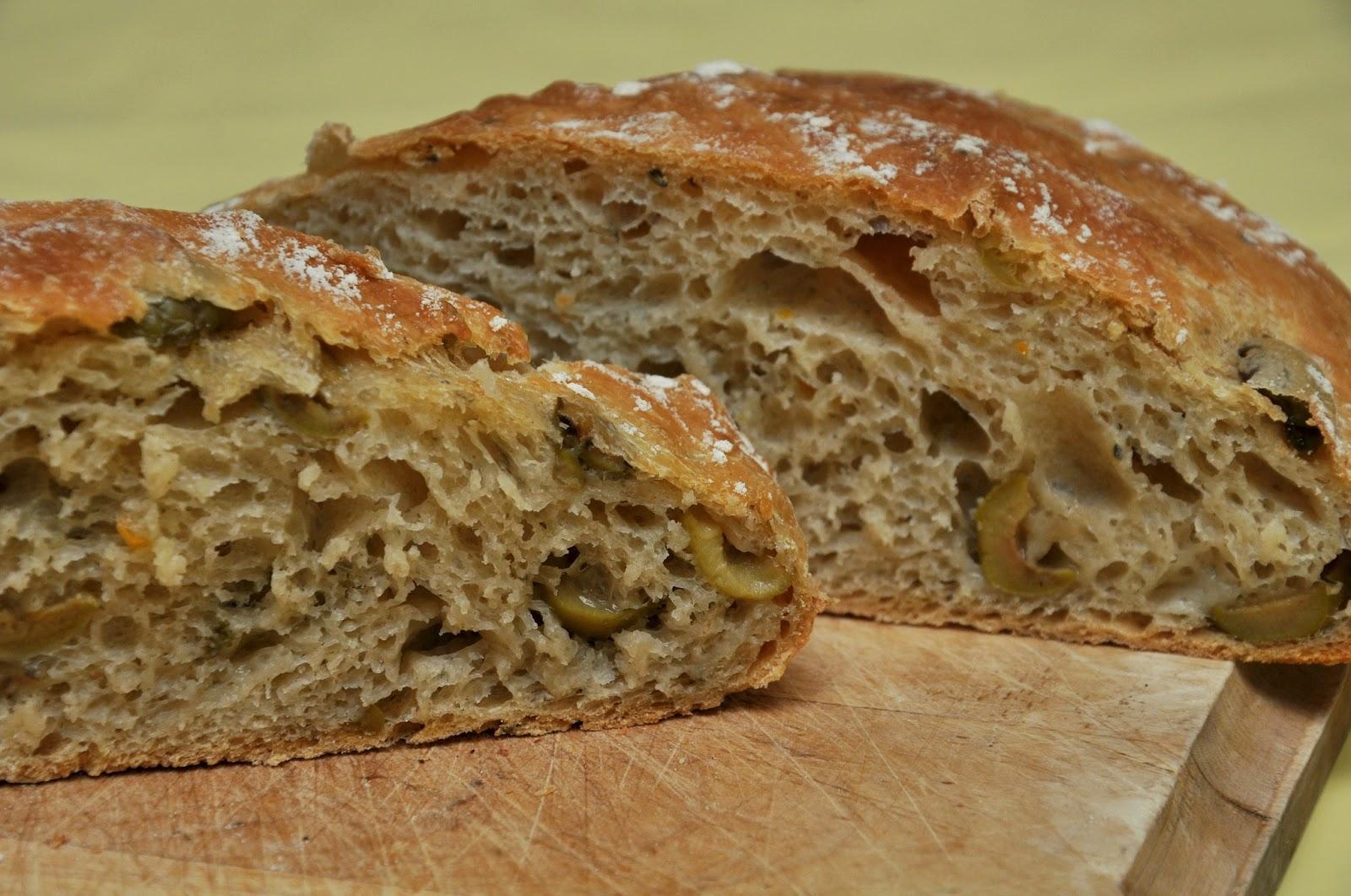 Kyoko.B bakes: No-Knead Mediterranean Olive Bread