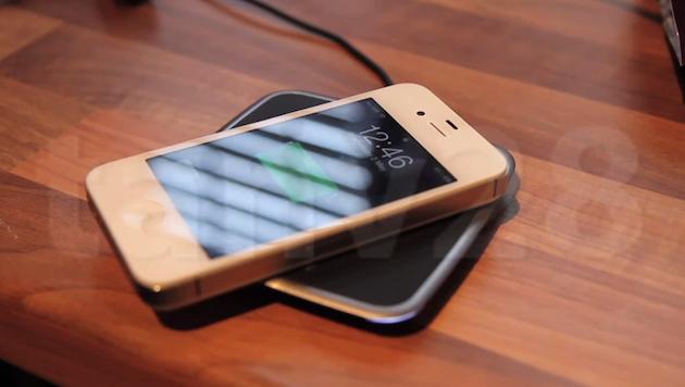 iPhone hack wireless charging