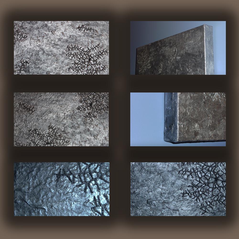 Dipinti materici astratti e complementi d 39 arredo la for Quadri materici astratti