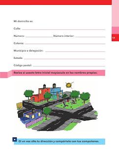 Apoyo Primaria Español 2do grado Bloque 1 lección 2 El lugar donde vivo