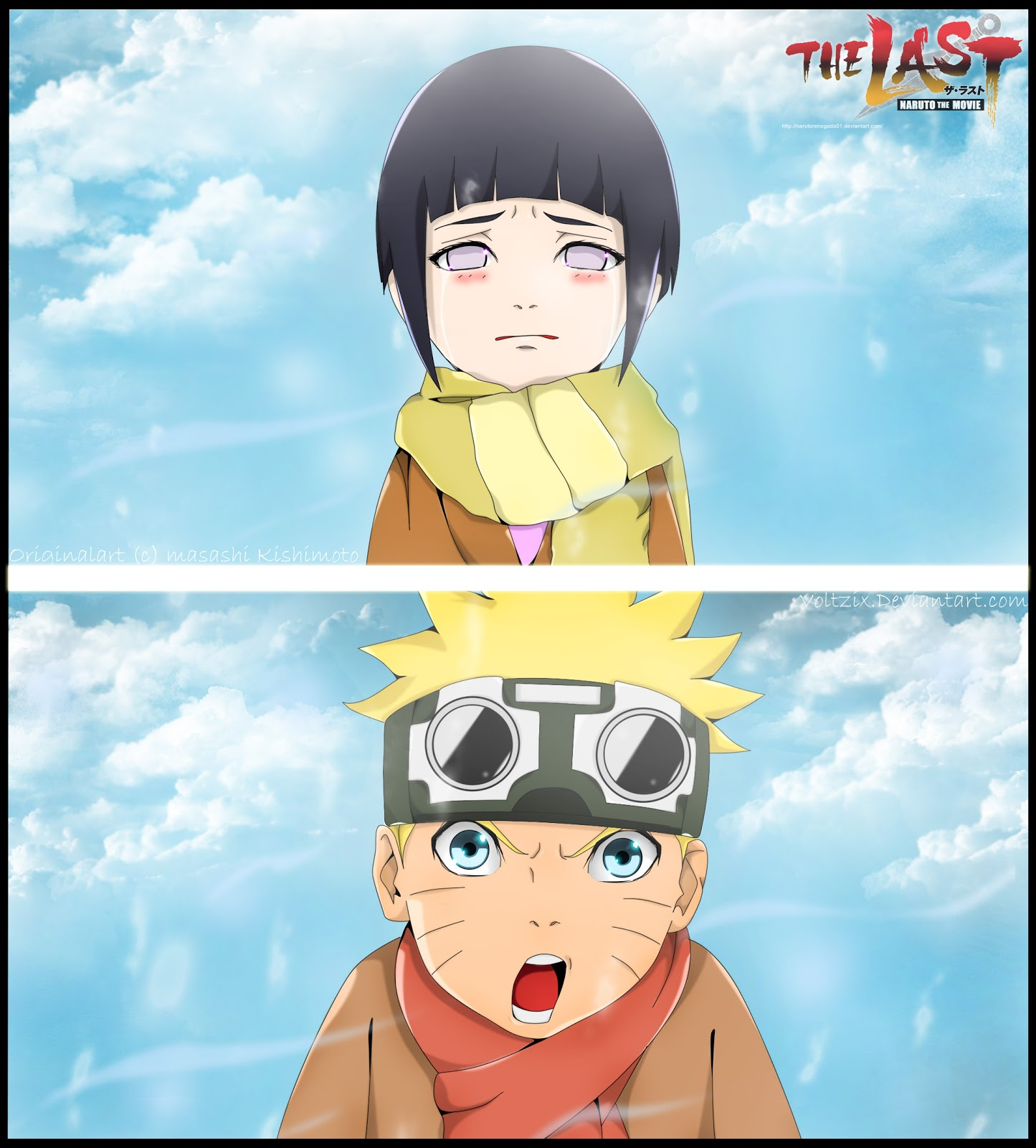 Voltzix: Naruto The last - Naruto and Hinata kid