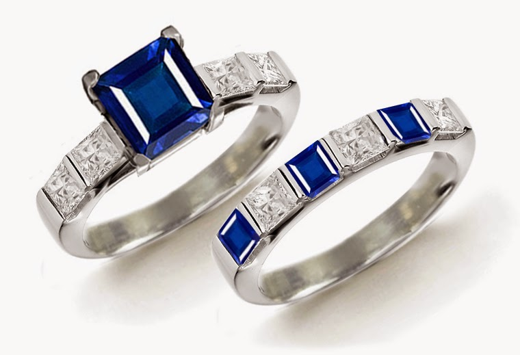 gemstones wedding rings