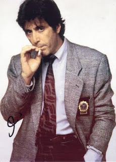 al pacino smoking
