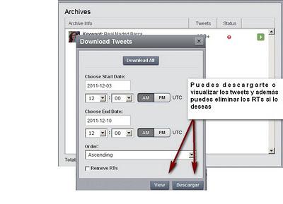hootsuite archivar mensajes