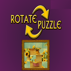 Rotate Puzzle (Logical Thinking Picture Puzzle)