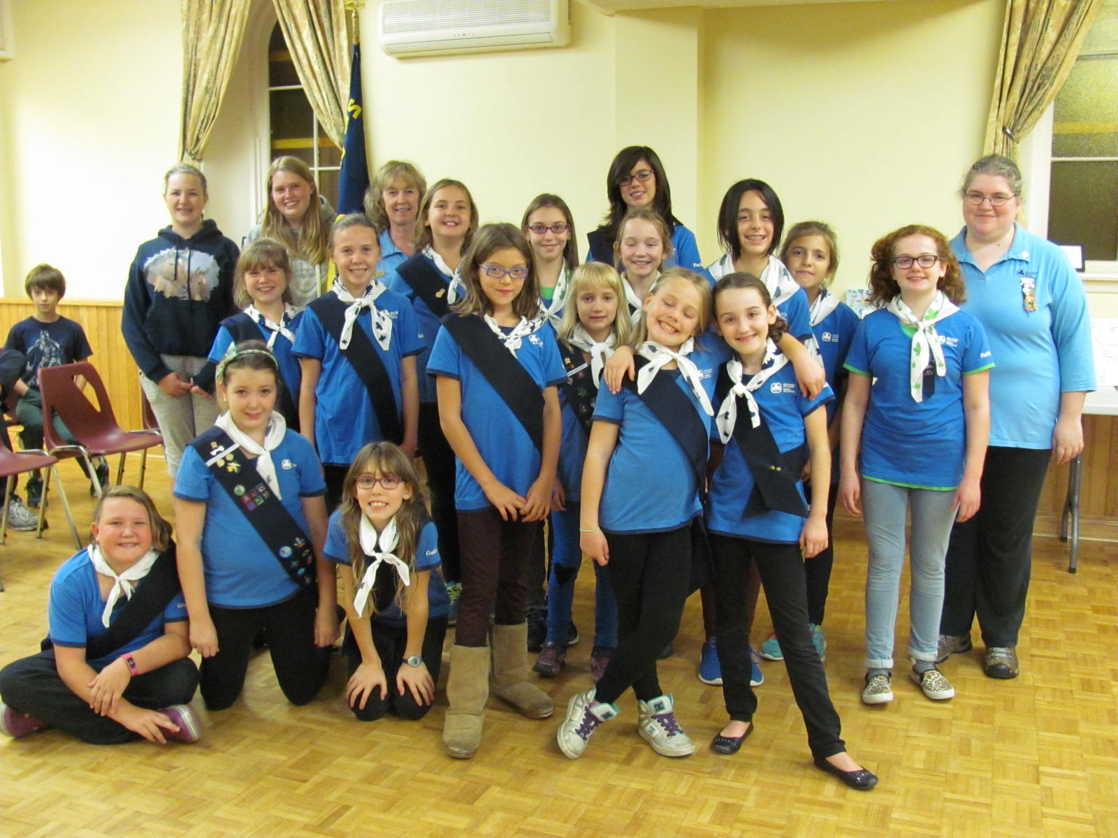 girl guide promise ceremony ideas