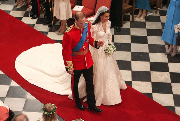 Design of Fabulous Wedding Dress from Royal Wedding