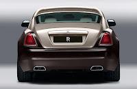 Rolls-Royce Wraith (2014) Rear 2