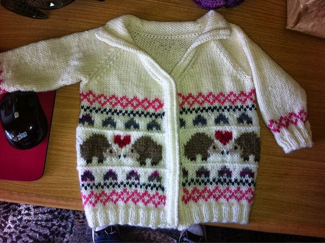 Modification Monday: Hedgehog Love Cardi - Knitted Bliss