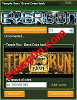 temple run : brave coins hack
