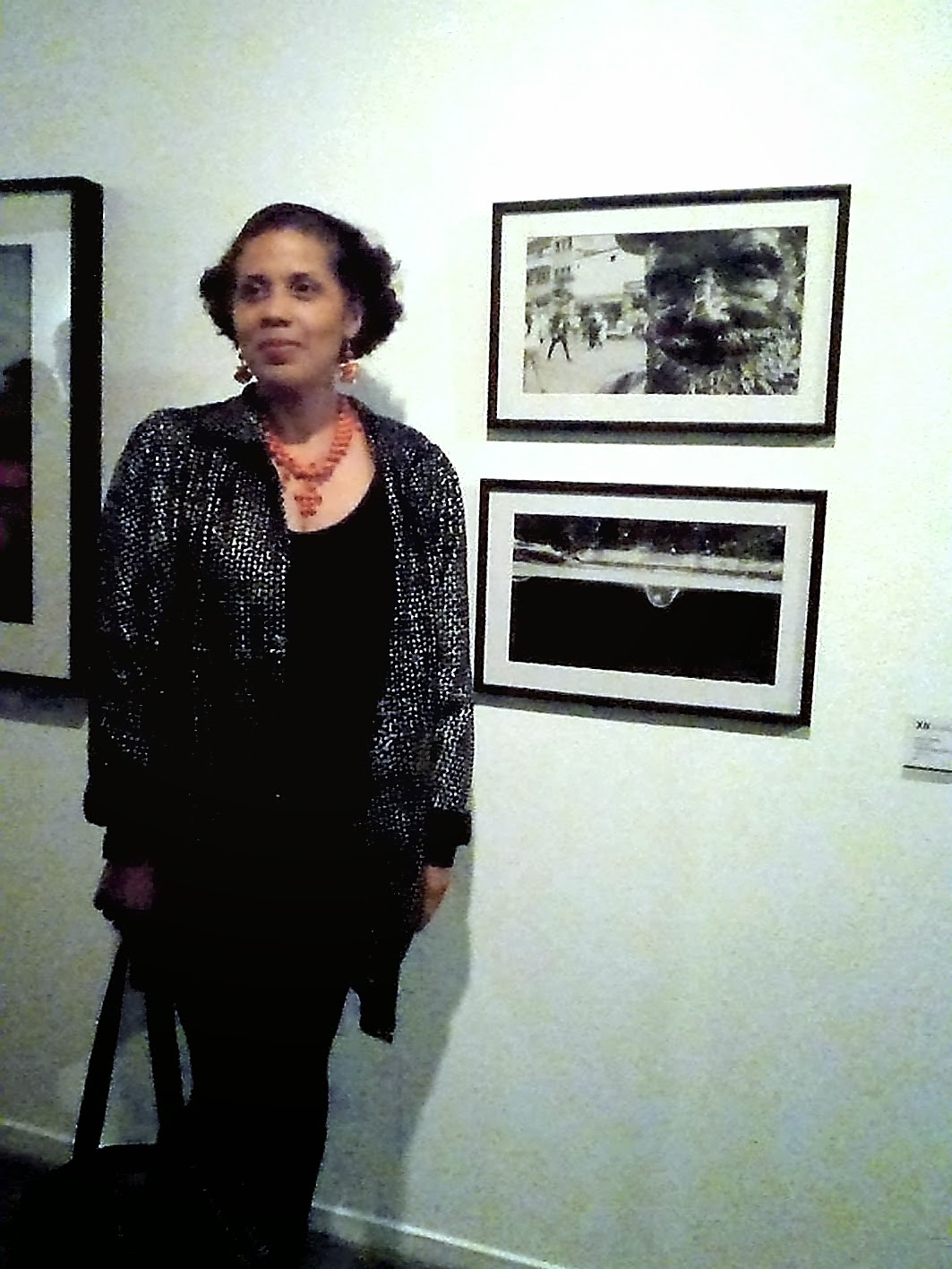 La Espera Fotografía B&N digital Gladys Calzadilla