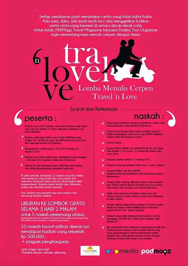 Lomba Menulis Cerpen Cinta