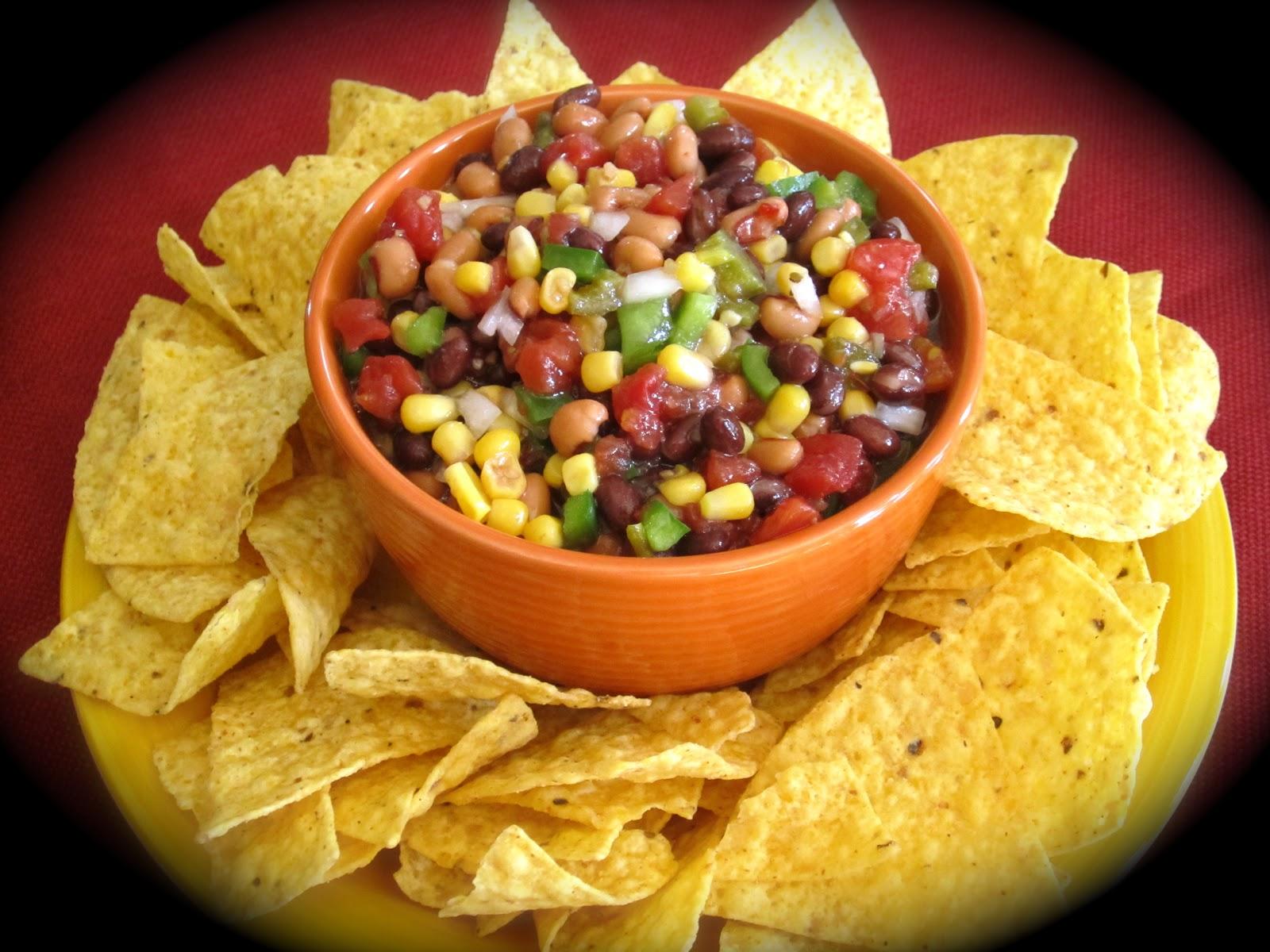 ... Friday's Restaurant Copycat Recipes: Black Eyed Peas and Corn Salsa
