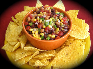 ... Friday's Restaurant Copycat Recipes: Black Eyed Peas and Corn Salsa