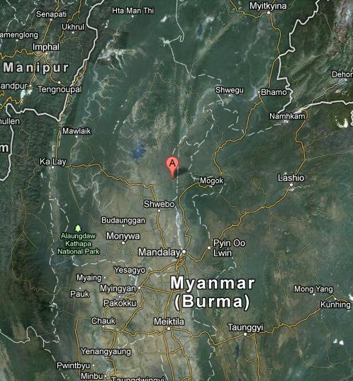 MYANMAR earthquake 2012 November 11