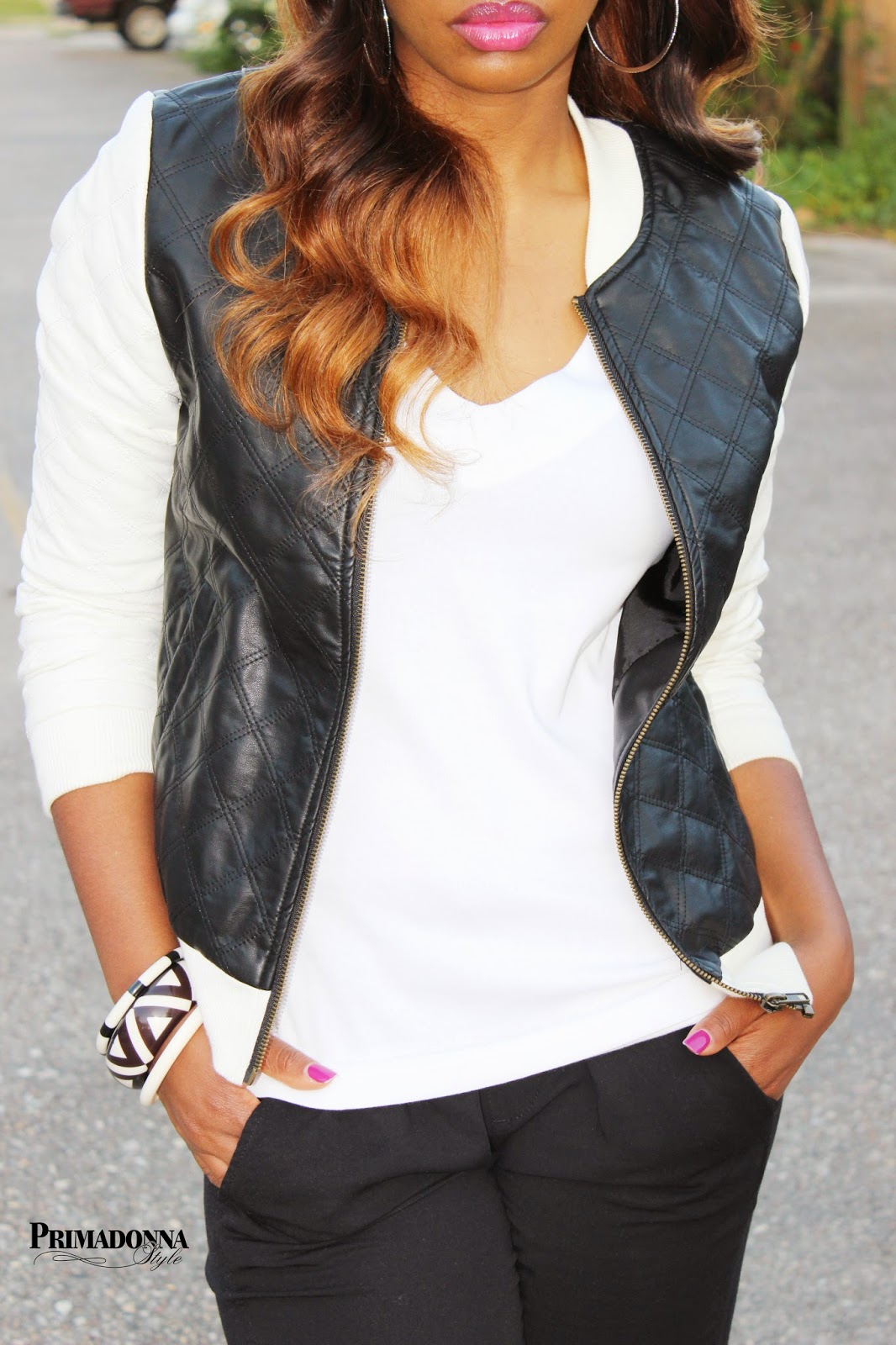How to wear what to wear with black and white