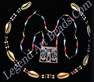 Necklace and pectoral of Princess Sit-Hathor, from Dahshur