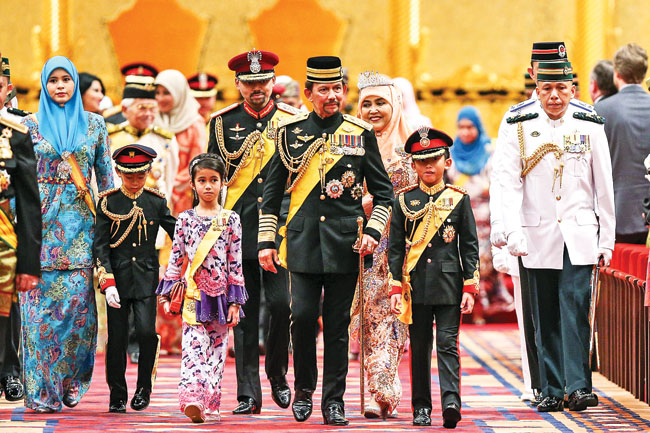 hm sultan brunei be resilient self reliant