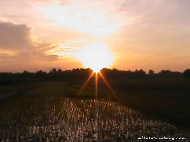 Image Wonderful and beatiful sunset