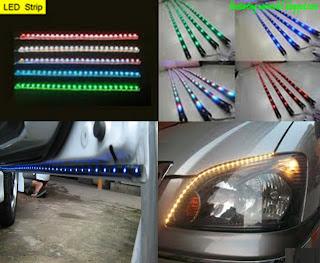 Superb Wiring Lampu Led Kereta Basic Electronics Wiring Diagram Wiring Cloud Nuvitbieswglorg