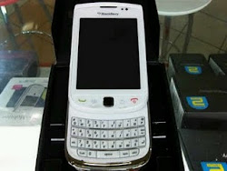 Blackberry Torch White 9800