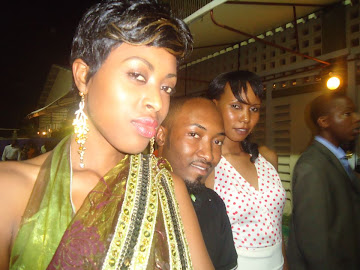 ALEXIA WILLIAM-MISS TANZANIA NUMBER 3,SEIF KABELELE AND FRIEND