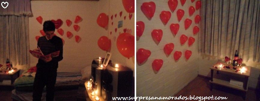 1 ano de namoro com balões Surpresas para Namorados