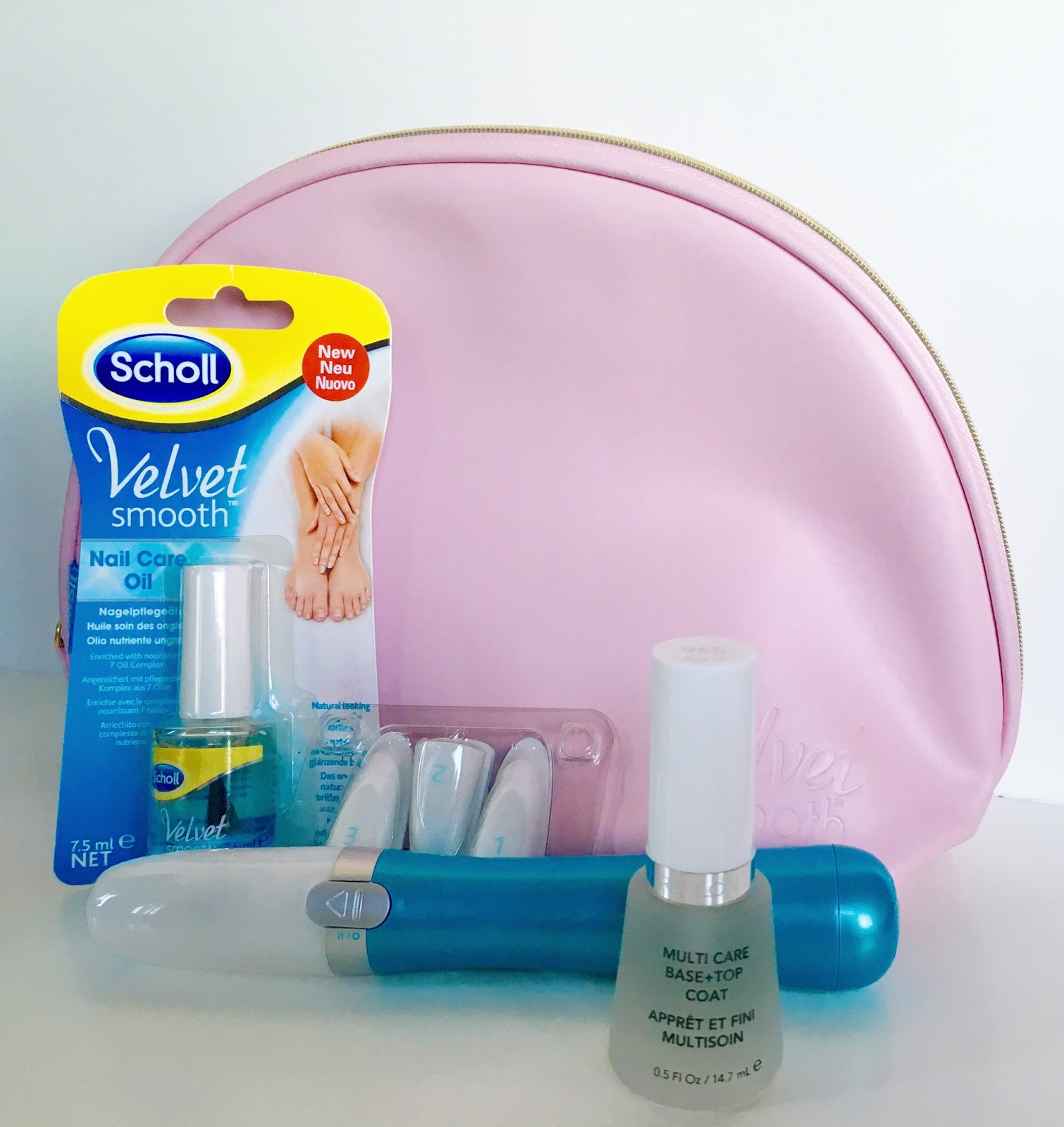 Scholl Velvet Smooth Electronic Nail Care System - review