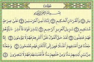 Hukum Baca Quran Surat Yasin Malam Jumat