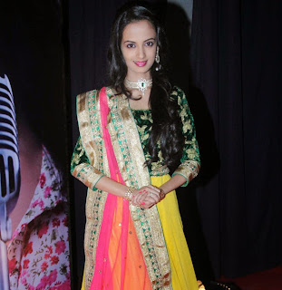 Marathi Female Singer Ketaki Mategaonka Spicy Stills at her new Album Launch
