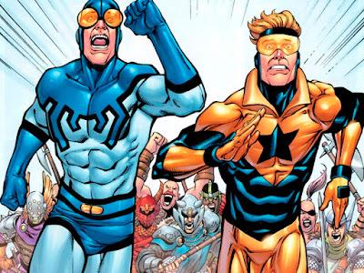 Warner podría estar desarrollando una película sobre Blue Beetle y Booster Gold